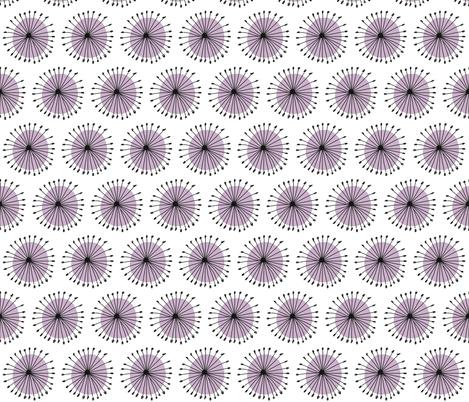 Dandelion fabric by annahedeklint on Spoonflower - custom fabric