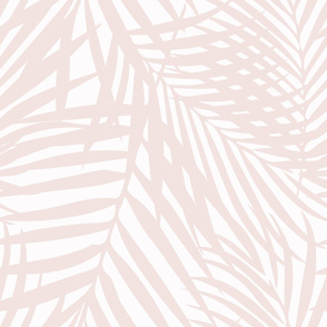 Fronds Petal Pink