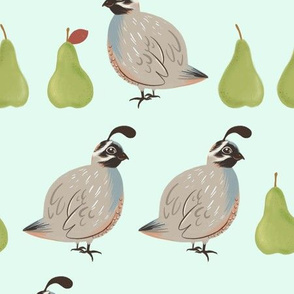 Partridges and Pears