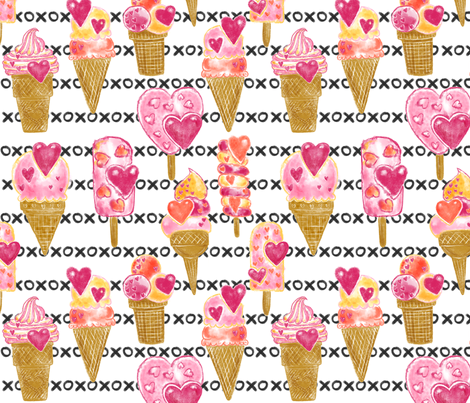 Oh, My Sweetness fabric by helenpdesigns on Spoonflower - custom fabric