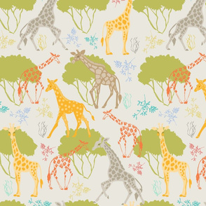 Giraffe Romp