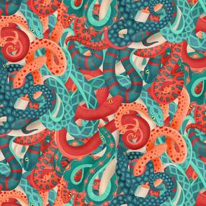 coral serpentine