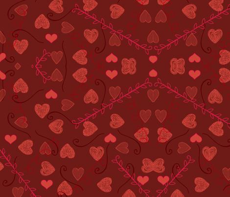 Be Mine fabric by chesserworks on Spoonflower - custom fabric