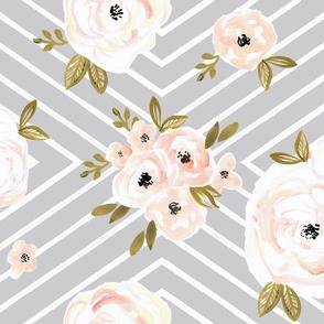 Peach Roses Mod gray rotate