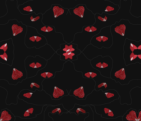 Hearts Entwined fabric by janetteatkinson@yahoo_co_uk on Spoonflower - custom fabric