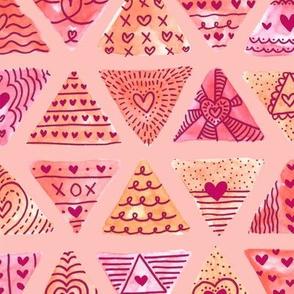 Valentine Triangle Doodle
