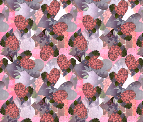 2019 Valentine Collage fabric by cricketswool on Spoonflower - custom fabric
