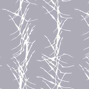 ink stick fence-blue periwinkle