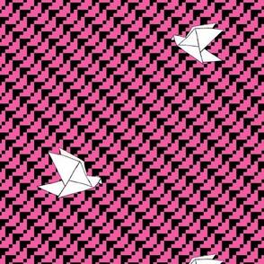 Flying Softly (hot pink)
