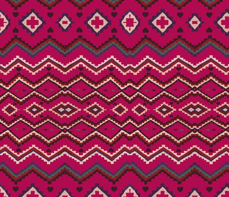 Valentino Navajo  fabric by babyancestree on Spoonflower - custom fabric