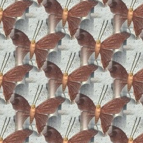 Industrial Butterfly   Photorealistic Insect Print
