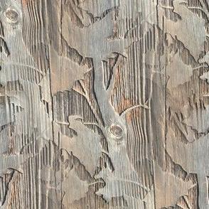 Maple Branch Wood   Photorealistic Wood Grain Print