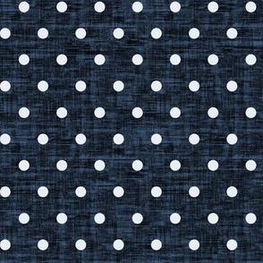 Polkadot -Navy Blue Texture
