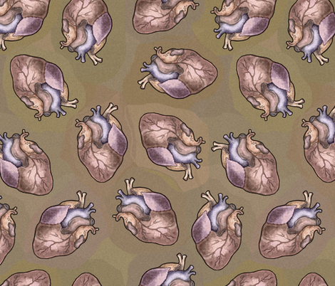 I Anatomically Correctly Love You fabric by lierre on Spoonflower - custom fabric
