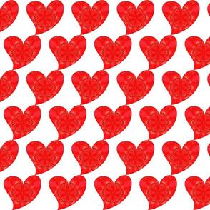 Dancing Heart Roses