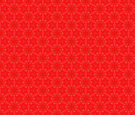 Tiny Red Rose Pattern fabric by tmpixart on Spoonflower - custom fabric