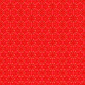 Tiny Red Rose Pattern