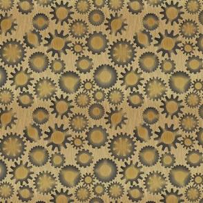 Steampunk Leopard Print