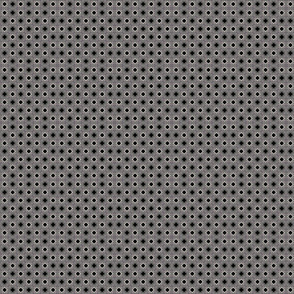 Diamonds and Squares in Black and Brown