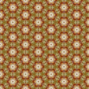 Food As Art in Octagon Pattern