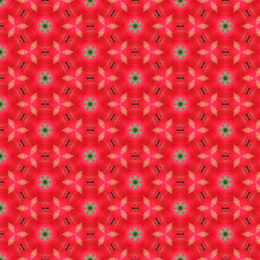 Beautiful Red and Green Pattern