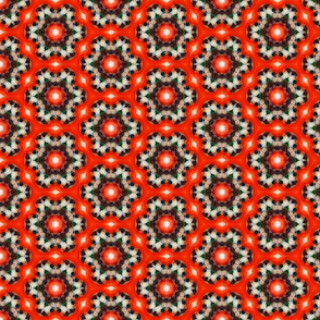 Red Black and Brown Pattern