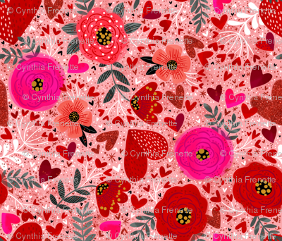 Hearts n Flowers