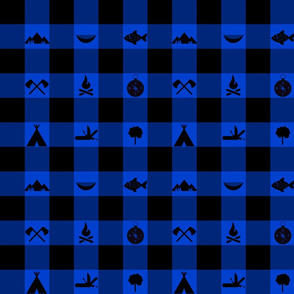 Buffalo - Icons - Blue