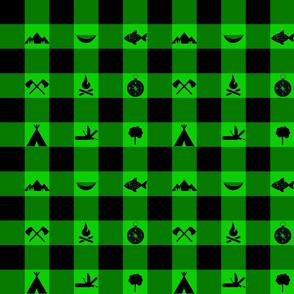Buffalo - Icons - Green