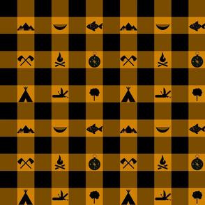 Buffalo - Icons - Orange