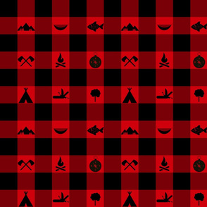Buffalo - Icons - Red