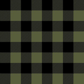 Buffalo Plaid - Green and Black C18BS
