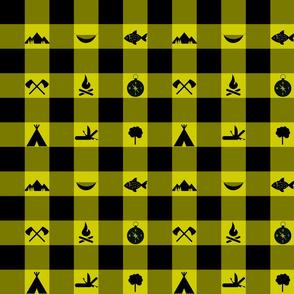 Buffalo - Icons - Yellow