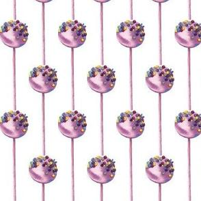 Lollipop watercolor pattern