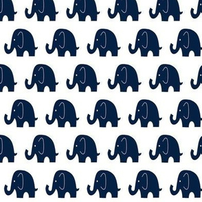Little Navy Elephants