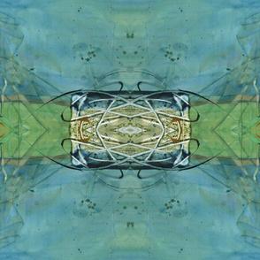Formal Garden Blue (large)
