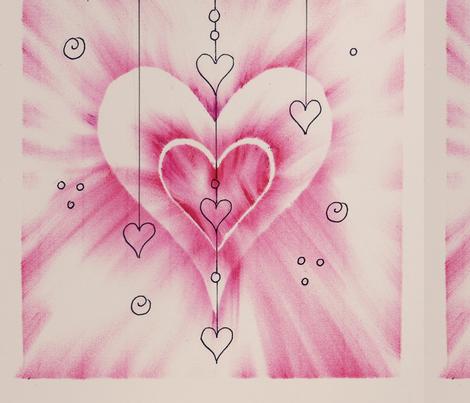 Love Sweet Love! fabric by verycarol on Spoonflower - custom fabric