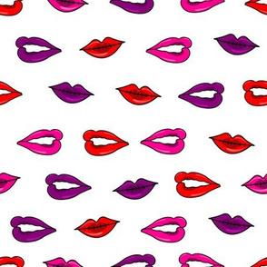 lip polkadots