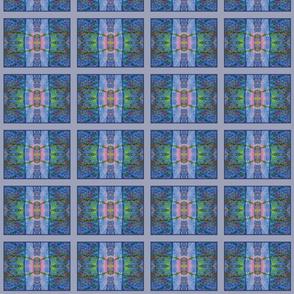 Sunshowers Blue (quilt)