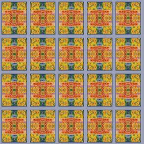 Sunshowers Yellow (quilt)