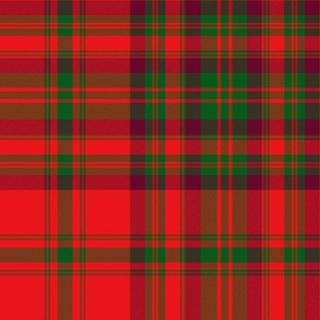 Matheson dress tartan of 1850, 12""