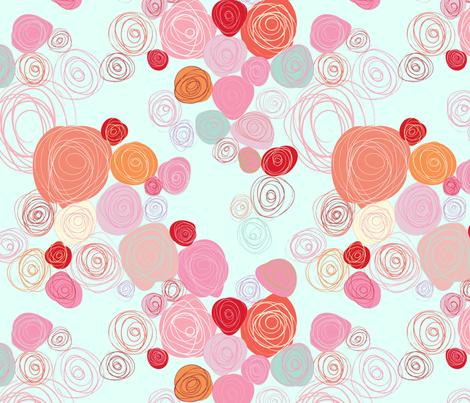 Valentine-Roses fabric by julesjac964 on Spoonflower - custom fabric