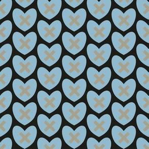 Hearts and Kisses - XMH015-6