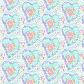 Twinkling Pastel Sweethearts
