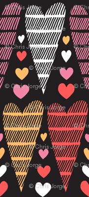 Striped by love
