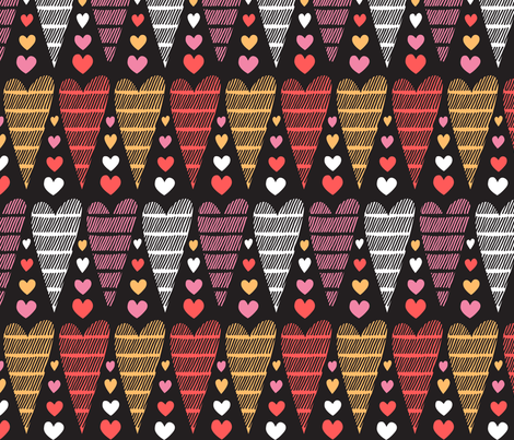 Striped by love fabric by chris_jorge on Spoonflower - custom fabric