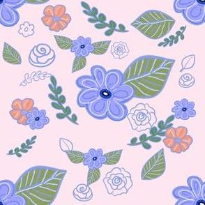 Flower Migration Pink