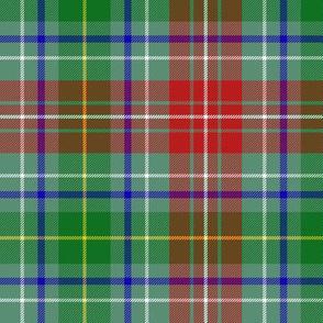 "Muirhead green tartan, 6"""