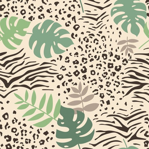 Tropical Animal Print