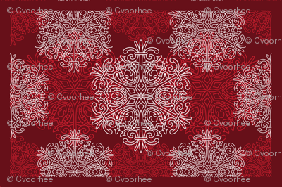 winter placemat
